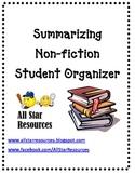 Summarizing Non-Fiction Student Organizer