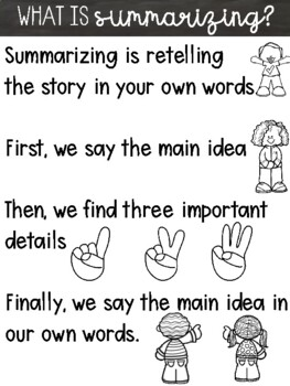 Summarizing NonFiction