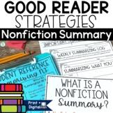 Summarizing Nonfiction Text Activities