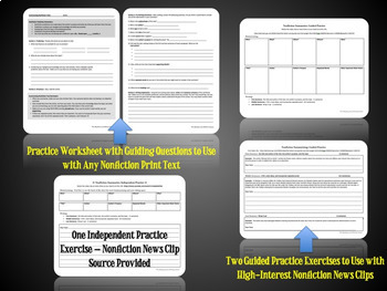 Summarizing Nonfiction Texts Practice