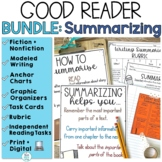 Summarizing Nonfiction and Fiction Activities Bundle