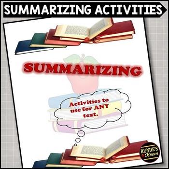 Summarizing Activities