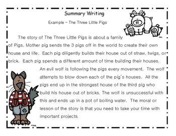 Summarizing Paragraphs