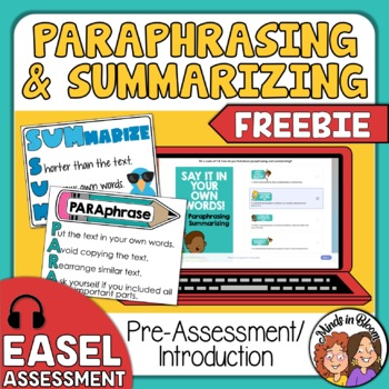 Summarizing and paraphrasing powerpoint information