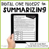 Summarizing Passages (Print & Digital)