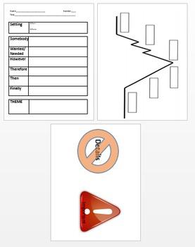 Summarizing Plot Graphic Organizer
