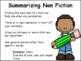 Summarizing Power Point: Summarizing Fiction and Nonfiction
