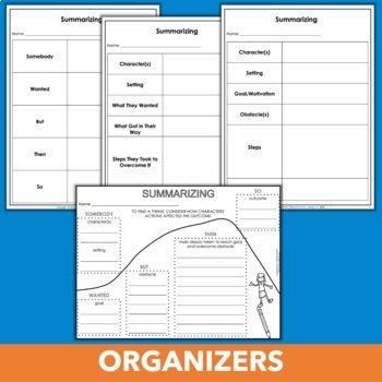 Summarizing Practice Pack - Yes, You Can Summarize!