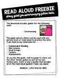 Summarizing Read Aloud Guide - Freebie