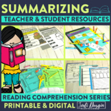 Summarizing | Reading Strategies | Digital and Printable