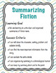 Summarizing Reading Strategy Unit - Retell fiction and non-fiction