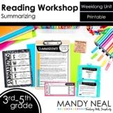 Summarizing Reading Workshop Unit