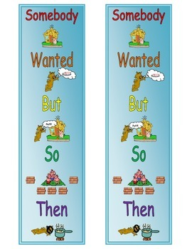 Summarizing Retelling Recounting Events Reading Strategy Bookmark