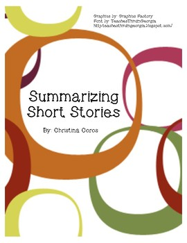 Summarizing Short Story 1