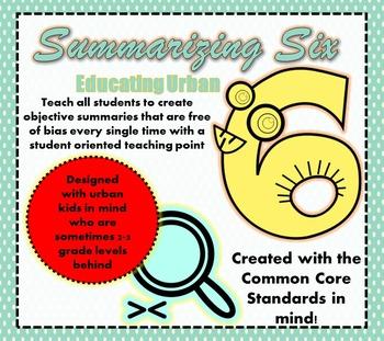 Summarizing Six Organizer