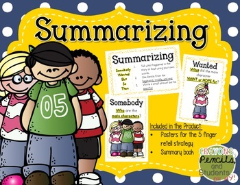 Summarizing - Someone, Wanted, But, So, Then