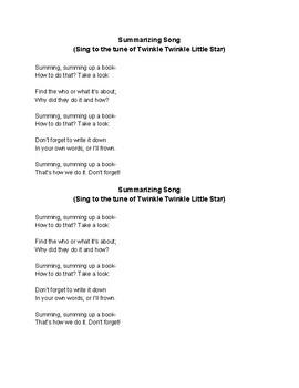 Summarizing Song