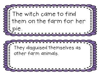 Summarizing Sort for Piggie Pie