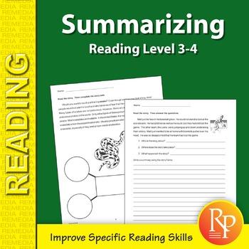 Summarizing: Specific Reading Skills Activities