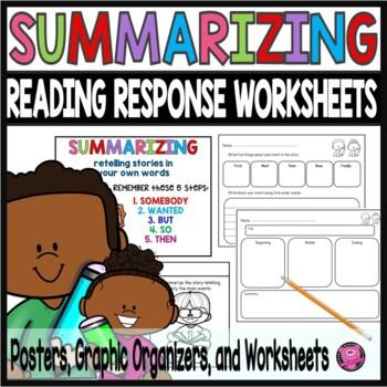 Summarizing Worksheets Teachers Pay Teachers