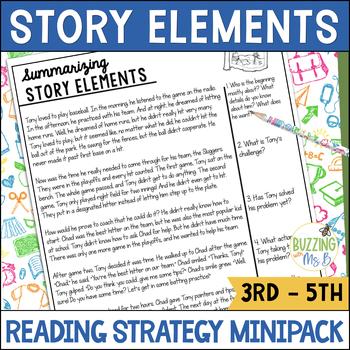 Summarizing Story Elements Strategy MiniPack