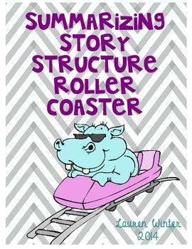 Summarizing Story Structure Roller Coaster