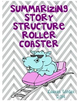 Summarizing Story Structure Roller Coaster