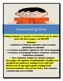 Summarizing Fiction or Story (for writing about books/non-fiction narratives)