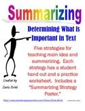 Summarizing Strategies by Darla Brink