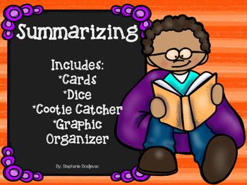 Summarizing (Student Activities and Graphic Organizer)