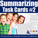 Summarizing Task Cards 2 (STAAR)