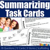 Summarizing Task Cards 3.40 (STAAR)