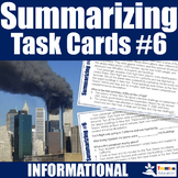 Summarizing Task Cards #6 September 11th (9/11)