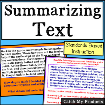 Summarizing Text of Written Nonfiction Passages with Hachi