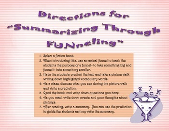 Summarizing Through FUNneling - Fiction