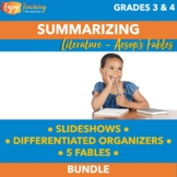 Summarizing Fables Unit (PDF or Google Drive)