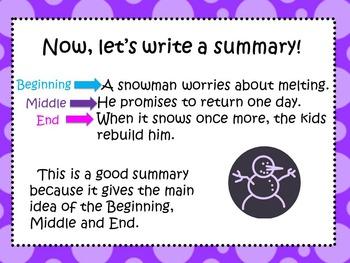 Summarizing: Choosing The Best Summary