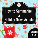 Summarize a Holiday News Article