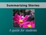 Summarizing a Story Powerpoint