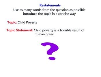 Summarizing and Better Answers
