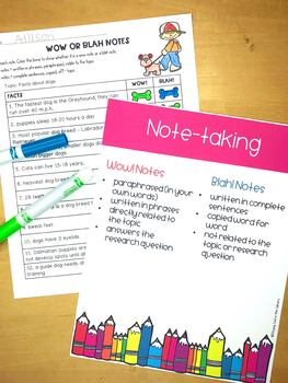 Summarizing and Paraphrasing Activities and Task Cards