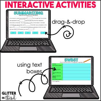 Google Drive & Google Classroom: Summarizing