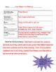 Summarizing graphic organizer with example