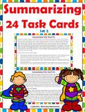 Summary Task Cards - Summarizing Task Cards-Set 2- PDF-Dig