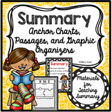 Summary Activities and Graphic Organizers