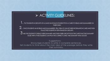 Summary Activity