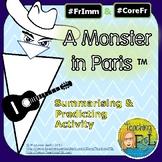 Summary Activity for Un Monstre à Paris (animated movie)