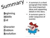 Summary Anchor Chart