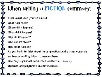 Summary Bookmarks