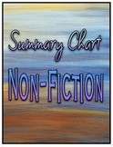 Summary Chart Non-Fiction